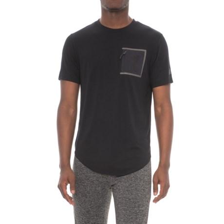 New Balance 247 Sport Pocket T-Shirt - Short Sleeve (For Men) in Black
