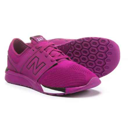 New Balance 247 Sport Sneakers - Slip-Ons (For Boys) in Purple/Black - Closeouts