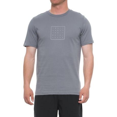 New Balance 247 T-Shirt - Short Sleeve (For Men) in Gunmetal