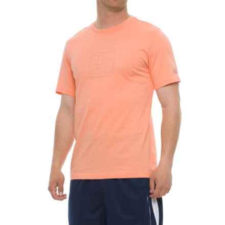 New Balance 247 T-Shirt - Short Sleeve (For Men) in Orange Sunset - Closeouts