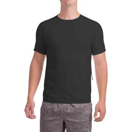 New Balance 247 Tech T-Shirt - Short Sleeve (For Men) in Black - Closeouts