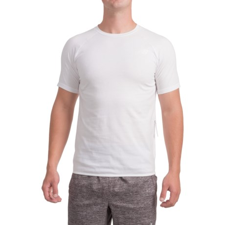 New Balance 247 Tech T-Shirt - Short Sleeve (For Men) in White