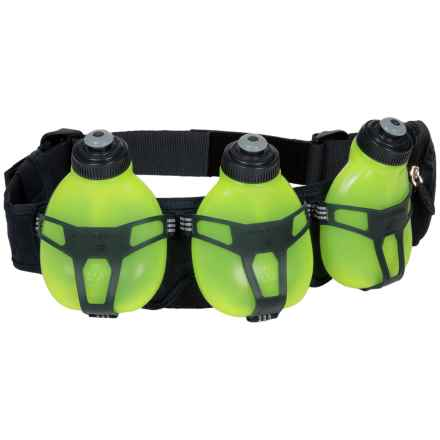 New Balance 3-Bottle Hydration Belt in Equinox/Toxic - Overstock