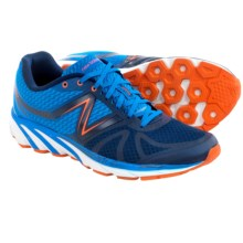 New Balance 3190v2 Running Shoes (For Men) in Navy Blue W/Orange White - Closeouts