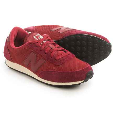 New Balance 410 Sneakers (For Men) in Burgundy - Closeouts