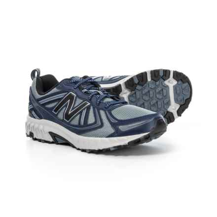 New Balance 410 V5 Trail Running Shoes (For Men) in Navy/Grey - Closeouts