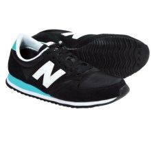 New Balance 420 Running Shoes (For Men and Women) in Black/Turquoise - Closeouts