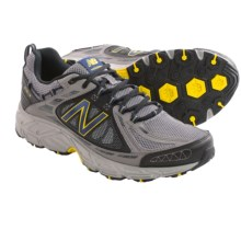 New Balance 510v2 Trail Running Shoes (For Men) in Grey/Yellow - Closeouts