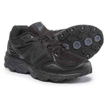 New Balance 510V3 Trail Running Shoes (For Men) in Black/Thunder - Closeouts