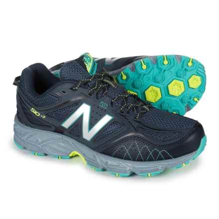 New Balance 510V3 Trail Running Shoes (For Women) in Thunder/Reef - Closeouts