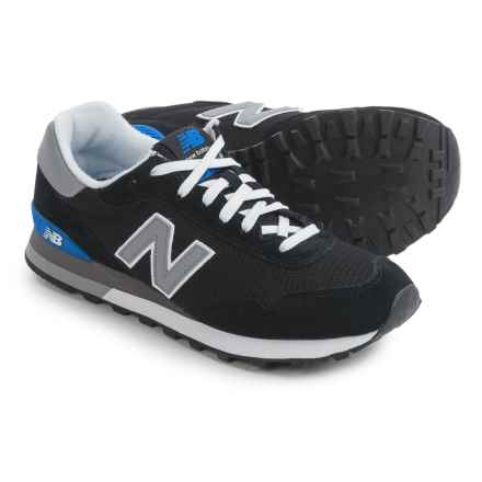 New Balance 515 Sneakers (For Men) in Black/Grey - Closeouts