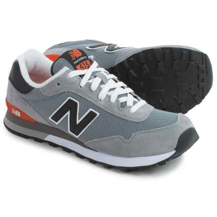 New Balance 515 Sneakers (For Men) in Grey / Black - Closeouts