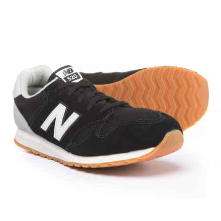 New Balance 520 Sneakers (For Boys) in Black - Closeouts