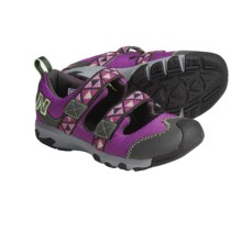 New Balance 554 Sport Sandals (For Youth) in Purple - Closeouts