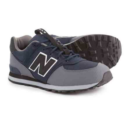 New Balance 574 Classic Sneakers (For Boys) in Navy - Closeouts