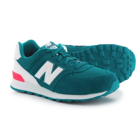 New Balance 574 Classic Sneakers (For Girls) in Blue