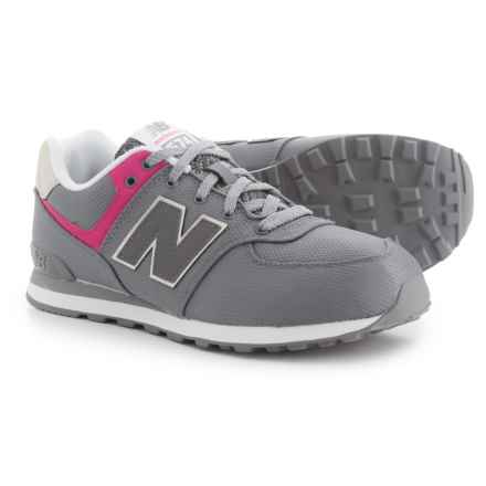 New Balance 574 Classic Sneakers (For Girls) in Grey - Closeouts