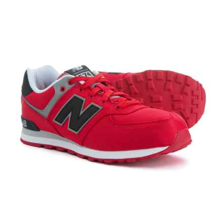 New Balance 574 Core Sneakers (For Boys) in Red - Closeouts
