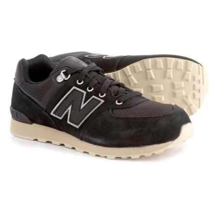 New Balance 574 Outdoor Sneakers (For Boys) in Black - Closeouts