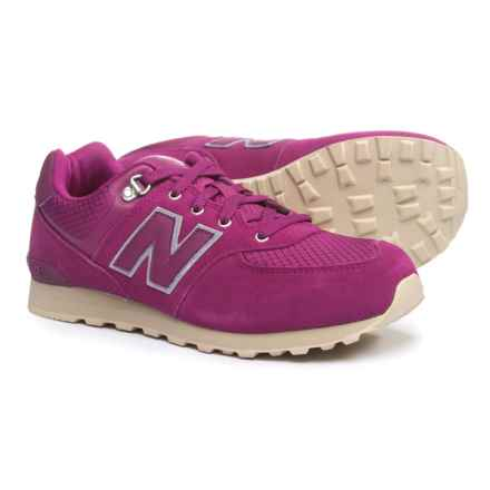 New Balance 574 Outdoor Sneakers (For Girls) in Purple - Closeouts