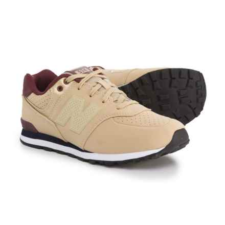 New Balance 574 Paint Chip Sneakers (For Boys) in Tan - Closeouts