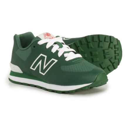 New Balance 574 Puddle Jumper Sneakers (For Boys) in Hunter Green - Closeouts