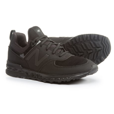 New Balance 574 Sneakers (For Boys) in Black