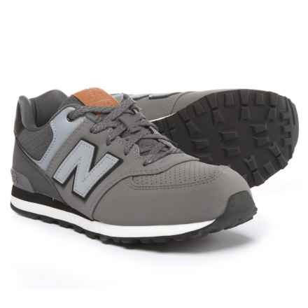 New Balance 574 Sneakers (For Boys) in Grey - Closeouts