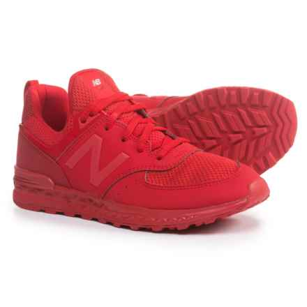 574 Sneakers (For Boys) in Red - Closeouts
