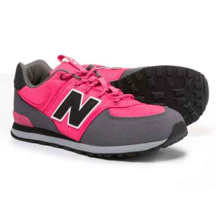 New Balance 574 Sneakers (For Girls) in Pink - Closeouts