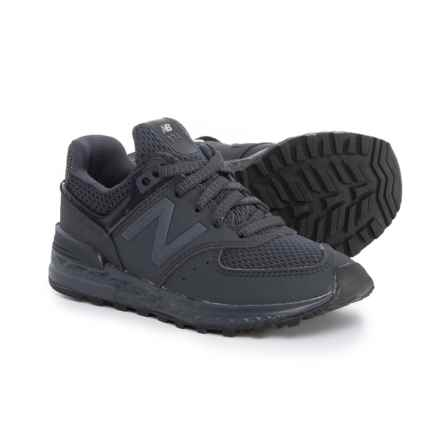 New Balance 574 Sport Sneakers - Slip-Ons (For Boys) in Blue - Closeouts