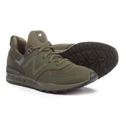 New Balance 574 Sport Sneakers - Slip-Ons (For Boys) in Olive - Closeouts