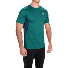New Balance 5K Run Tech T-Shirt - Short Sleeve (For Men) in Juniper - Closeouts