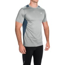 New Balance 5K Run Tech T-Shirt - Short Sleeve (For Men) in Silver Mink - Closeouts