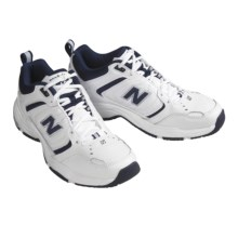 New Balance 601 Cross Trainer Shoes (For Men) in White / Navy - Closeouts