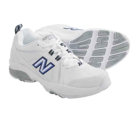 New Balance 608V3 Cross Training Shoes (For Women) in White/Navy