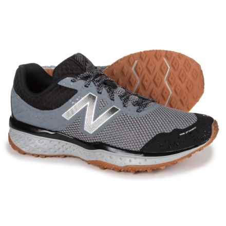 New Balance 620V2 Trail Running Shoes (For Men) in Gunmetal/Black - Closeouts