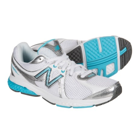 New Balance 665 Walking Shoes (For Women) in White/Blue