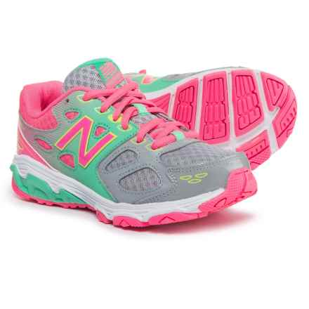 New Balance 680 Running Shoes (For Girls) in Grey - Closeouts