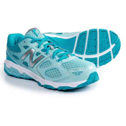 New Balance 680 V3 Running Shoes (For Girls) in Blue - Closeouts