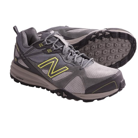 New Balance 689 Trail Shoes - Suede (For Men) in Brown/Red