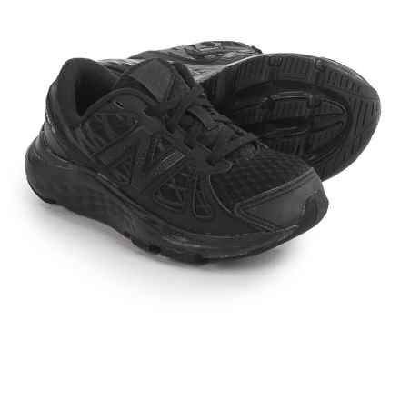 New Balance 690 Running Shoes (For Little and Big Boys) in Black - Closeouts