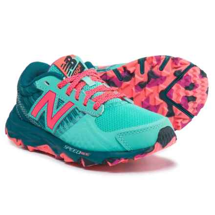 New Balance 690 Trail Running Shoes (For Girls) in Green - Closeouts
