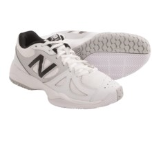 New Balance 696 Tennis Shoes (For Women) in White/Silver - Closeouts