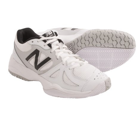 New Balance 696 Tennis Shoes (For Women) in White/Silver