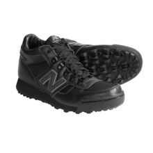 New Balance 710 Casual Shoes - Leather (For Men) in Black - Closeouts