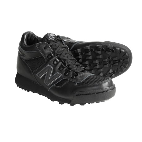 New Balance 710 Casual Shoes - Leather (For Men) in Black