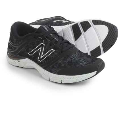New Balance 711 Heathered Fitness Training Shoes (For Women) in Black/Graphic - Closeouts