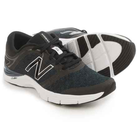 New Balance 711 Heathered Fitness Training Shoes (For Women) in Black/Thunder - Closeouts