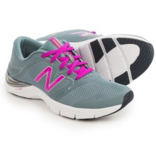 New Balance 711 Heathered Fitness Training Shoes (For Women) in Grey/Azalea - Closeouts